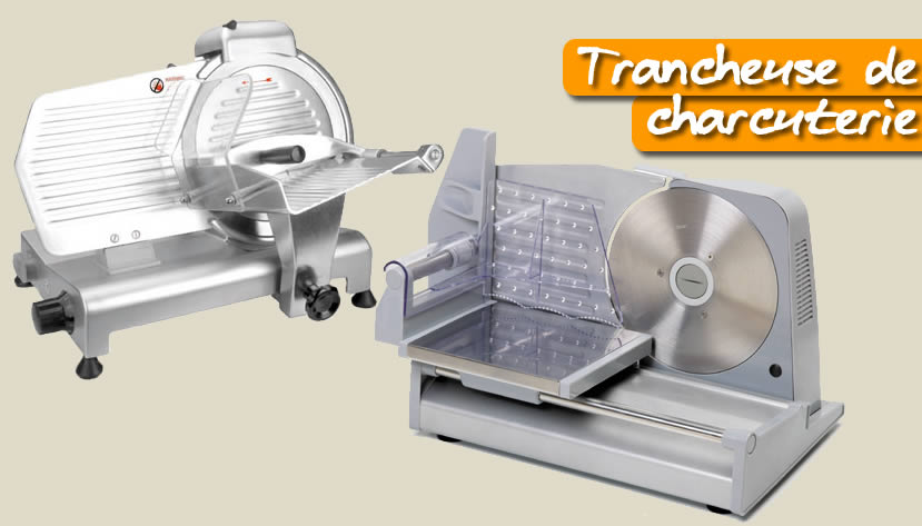 Trancheuse lectrique de charcuterie for Equipement restauration usage